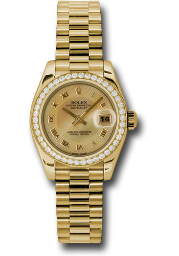 Rolex Datejust Damen Gold
