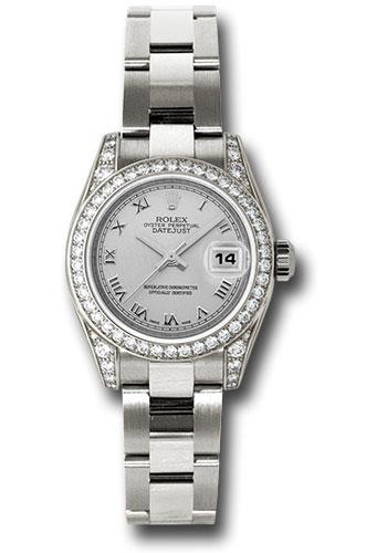 Rolex 179159 sro Datejust Lady|Gold President (WG|Dia Bez ...