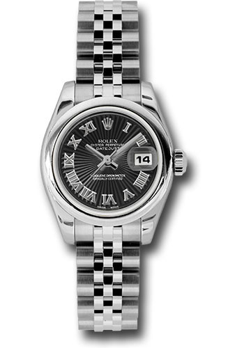 Rolex Watches - Datejust Lady - Steel Domed Bezel - Jubilee Bracelet - Style No: 179160 bksbrj