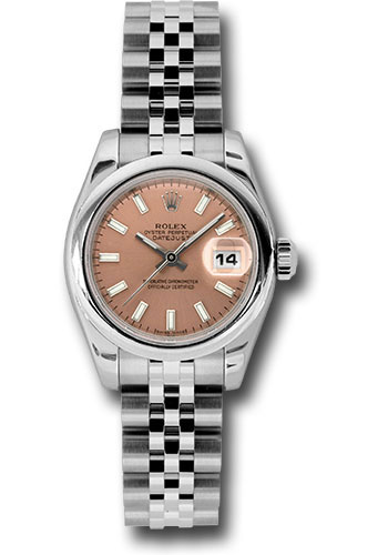 Rolex Watches - Datejust Lady - Steel Domed Bezel - Jubilee Bracelet - Style No: 179160 psj