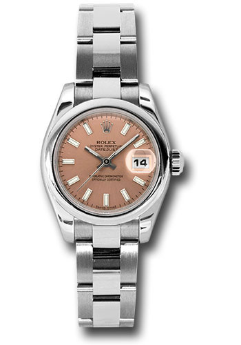 Rolex Watches - Datejust Lady - Steel Domed Bezel - Oyster Bracelet - Style No: 179160 pso