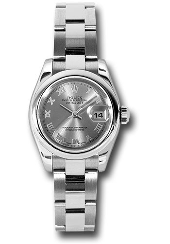 Rolex Watches - Datejust Lady - Steel Domed Bezel - Oyster Bracelet - Style No: 179160 rro