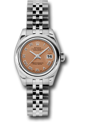 Rolex Watches - Datejust Lady - Steel Domed Bezel - Jubilee Bracelet - Style No: 179160 prj