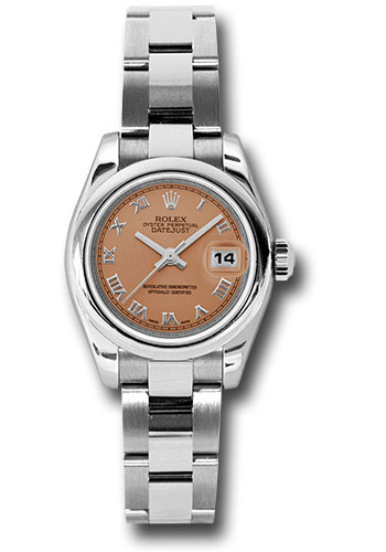 Rolex Watches - Datejust Lady - Steel Domed Bezel - Oyster Bracelet - Style No: 179160 pro