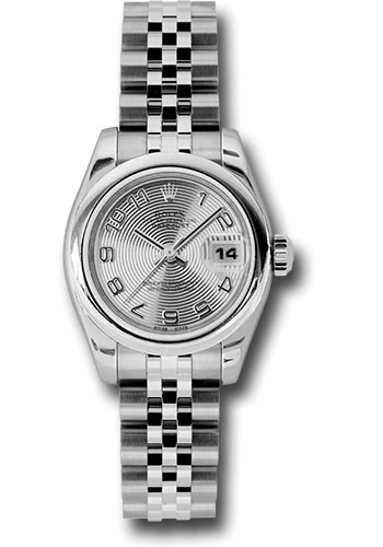 Rolex Watches - Datejust Lady - Steel Domed Bezel - Jubilee Bracelet - Style No: 179160 scaj