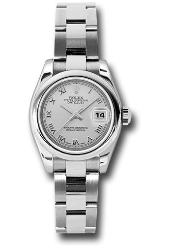 Rolex Watches - Datejust Lady - Steel Domed Bezel - Oyster Bracelet - Style No: 179160 sro