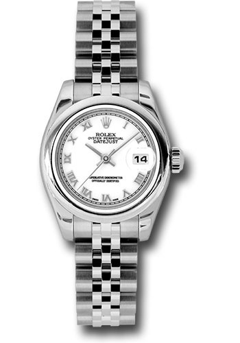 Rolex Watches - Datejust Lady - Steel Domed Bezel - Jubilee Bracelet - Style No: 179160 wrj