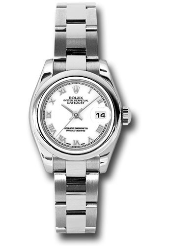Rolex Watches - Datejust Lady - Steel Domed Bezel - Oyster Bracelet - Style No: 179160 wro