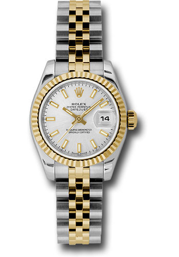 Rolex Watches - Datejust Lady - Steel and Gold Yellow Gold - Fluted Bezel - Jubilee - Style No: 179173 ssj