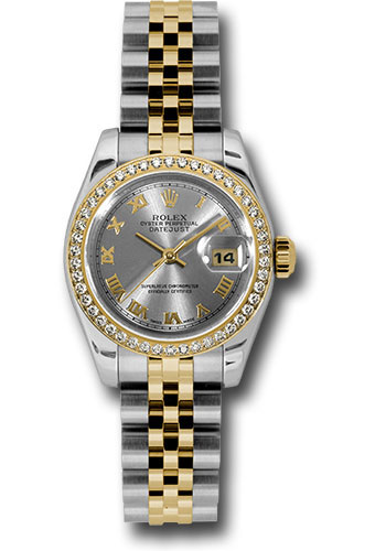 Rolex Watches - Datejust Lady - Steel and Gold Yellow Gold - 46 Dia Bezel - Jubilee - Style No: 179383 rrj