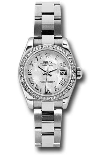 Rolex Oyster Perpetual Datejust Diamond Bezel