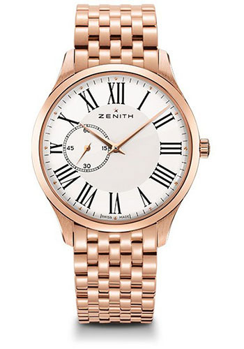 Zenith Watches - Captain Ultra Thin Rose Gold - Style No: 18.2010.681/11.M2010