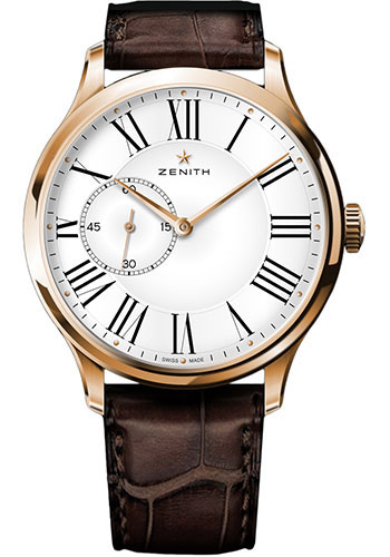 Zenith Watches - Heritage Ultra Thin Rose Gold - Style No: 18.2010.681/11.C498