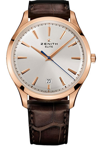 Zenith Watches - Captain Central Second Rose Gold - Style No: 18.2020.670/01.C498