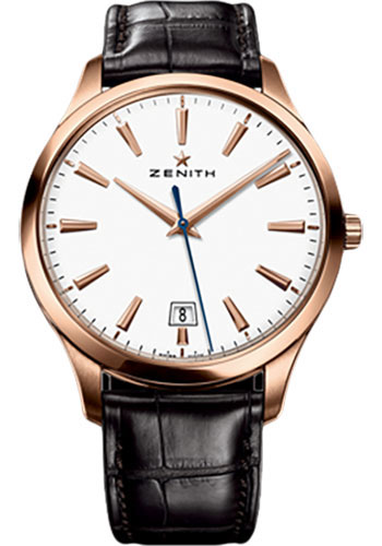 Zenith Watches - Captain Central Second Rose Gold - Style No: 18.2020.670/11.C498