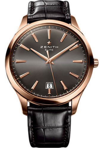 Zenith Watches - Captain Central Second Rose Gold - Style No: 18.2020.670/22.C498
