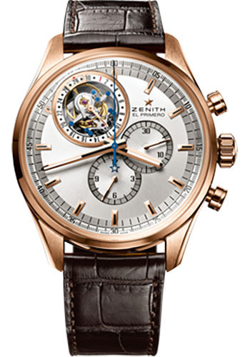 Zenith Watches - El Primero Tourbillon Rose Gold - Style No: 18.2050.4035/01.C713