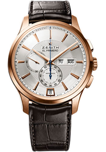 Zenith Watches - Captain Winsor Rose Gold - Style No: 18.2070.4054/02.C711