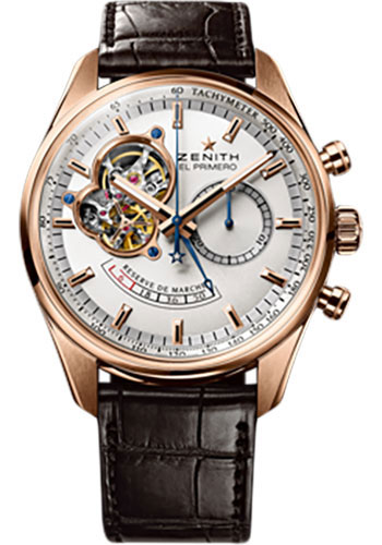 Zenith Watches - El Primero Chronomaster Power Reserve Rose Gold - Style No: 18.2080.4021/01.C494