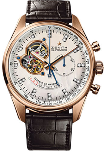Zenith Watches - El Primero Chronomaster Power Reserve Rose Gold - Style No: 18.2080.4021/81.C713