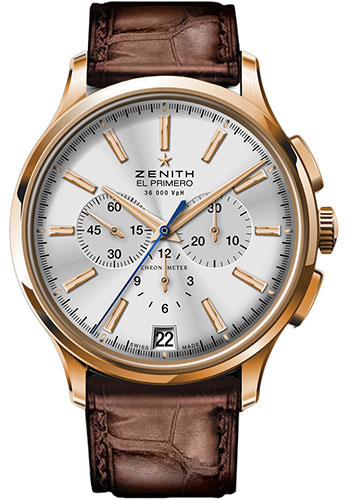 Zenith Watches - Captain Chronograph Rose Gold - Style No: 18.2110.400/01.C498