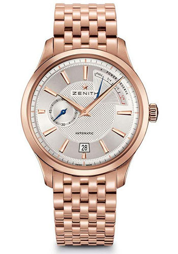 Zenith Watches - Captain Power Reserve Rose Gold - Style No: 18.2120.685/02.M2120