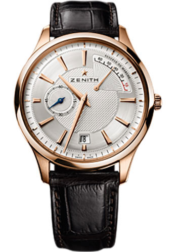 Zenith Watches - Captain Power Reserve Rose Gold - Style No: 18.2120.685/02.C498
