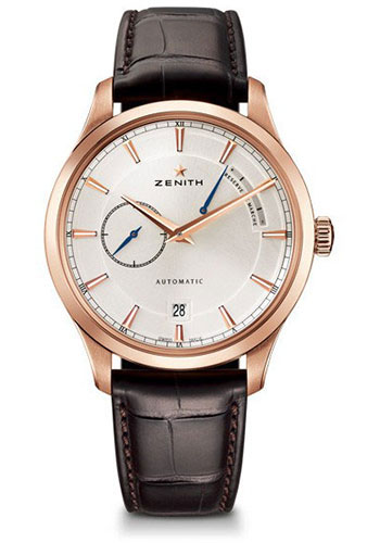 Zenith Watches - Captain Power Reserve Rose Gold - Style No: 18.2121.685/01.C498