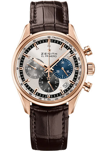Zenith Watches - Chronomaster El Primero 38 mm - Rose Gold - Style No: 18.2150.400/69.C713