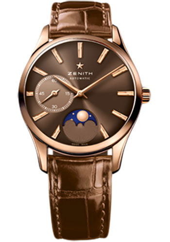 Zenith Watches - Elite Lady Ultra Thin Moonphase Rose Gold - Style No: 18.2310.692/75.C709