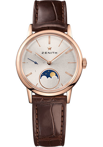 Zenith Watches - Elite Lady Moonphase 33 mm - Rose Gold - Style No: 18.2330.692/01.C713