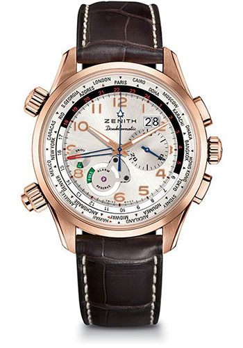 Zenith Watches - Pilot Doublematic - Style No: 18.2400.4046/01.C721