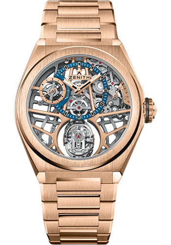 Zenith Watches - Defy Zero G Rose Gold - Style No: 18.9000.8812/79.M9000