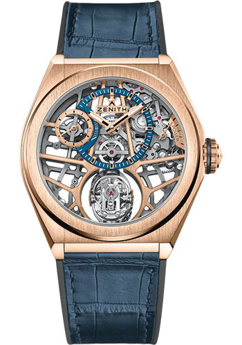 Zenith Watches - Defy Zero G Rose Gold - Style No: 18.9000.8812/79.R584