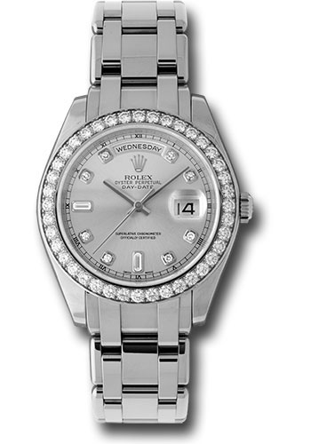 Rolex Watches - Day-Date Special Edition Platinum Masterpiece - Style No: 18946 gd