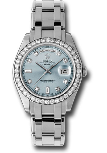 Rolex Watches - Day-Date Special Edition Platinum Masterpiece - Style No: 18946 glad