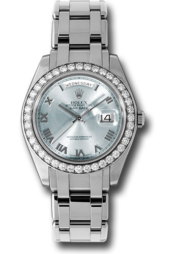 Rolex Watches - Day-Date Special Edition Platinum Masterpiece - Style No: 18946 glar