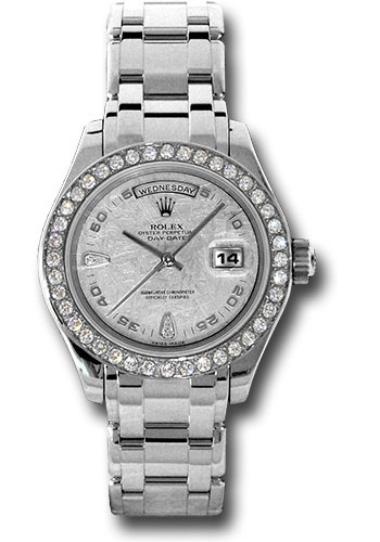 Rolex Watches - Day-Date Special Edition Platinum Masterpiece - Style No: 18946 met