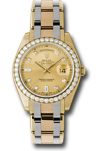 Rolex Watches - Day-Date Special Edition Tridor Masterpiece - Style No: 18948tri chd