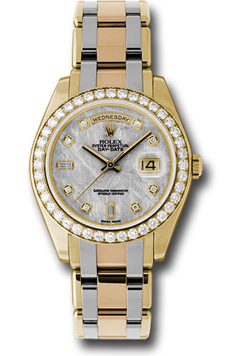 Rolex Watches - Day-Date Special Edition Tridor Masterpiece - Style No: 18948tri mtd