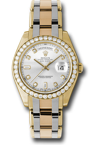 Rolex Watches - Day-Date Special Edition Tridor Masterpiece - Style No: 18948tri sd