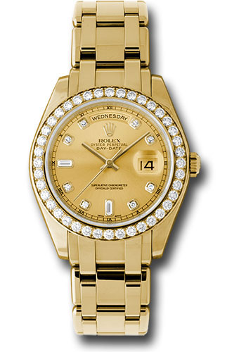 Rolex Watches - Day-Date Special Edition Yellow Gold Masterpiece - Style No: 18948 chd