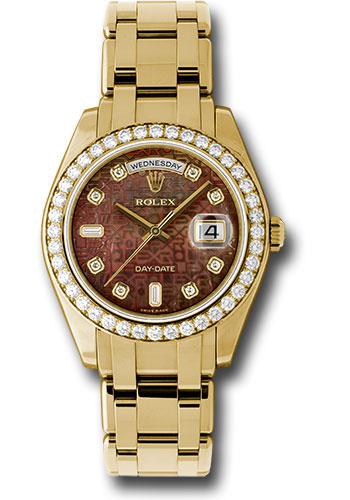 Rolex Watches - Day-Date Special Edition Yellow Gold Masterpiece - Style No: 18948 dkmjd