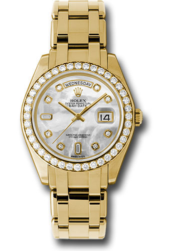 Rolex Watches - Day-Date Special Edition Yellow Gold Masterpiece - Style No: 18948 md