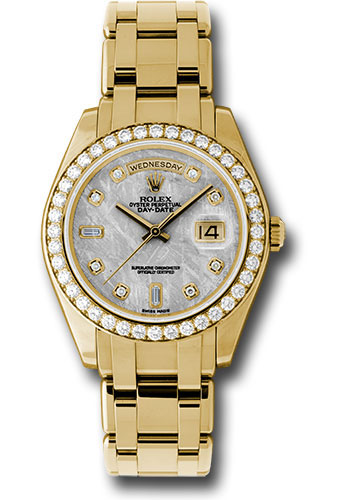 Rolex Watches - Day-Date Special Edition Yellow Gold Masterpiece - Style No: 18948 mtd