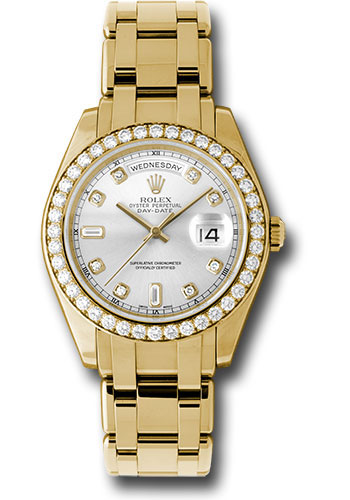 Rolex Watches - Day-Date Special Edition Yellow Gold Masterpiece - Style No: 18948 sd