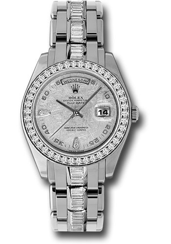 Rolex Watches - Day-Date Special Edition Platinum Masterpiece - Style No: 18956 BRIL