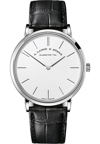 A. Lange & Sohne Watches - Saxonia Thin Manual Wind - Style No: 201.027