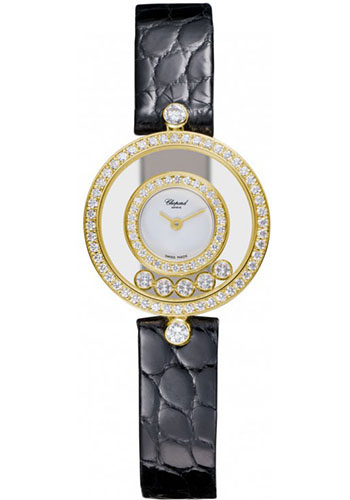 Chopard Watches - Happy Diamonds Small - Style No: 203957-0001