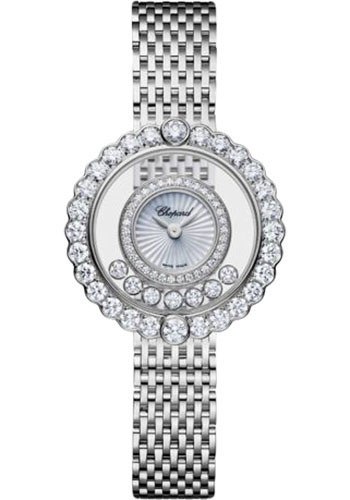 Chopard Watches - Happy Diamonds Icons - 30.30mm - White Gold - Style No: 204180-1201